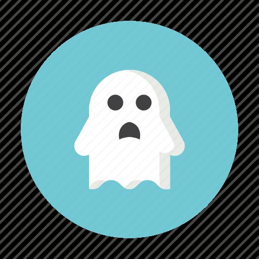 ghost, hallowen, horror, night, treat icon