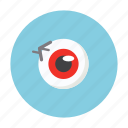 eye, ghost, hallowen, horror, night, treat icon