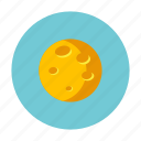 ghost, hallowen, horror, moon, night, treat icon