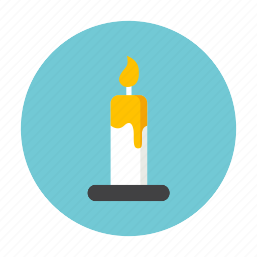 candle, ghost, hallowen, horror, night, treat icon