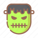 halloween, horror, mask icon