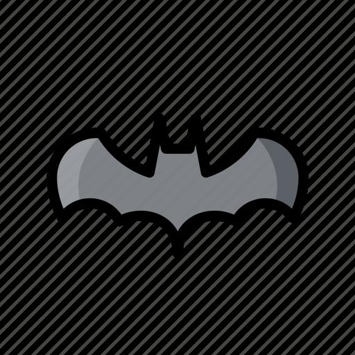 bat, evil, ghost, halloween, horror, scary, skull icon