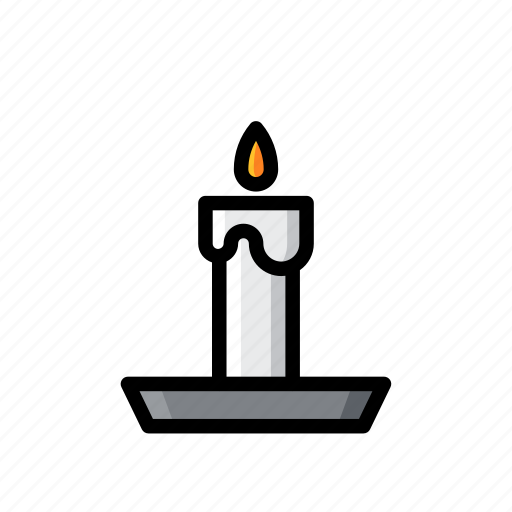 candle, candles, ghost, halloween, horror, light, scary icon