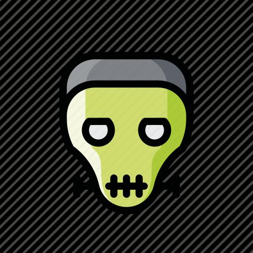 dead, evil, frankenstein, halloween, horror, scary, zombie icon