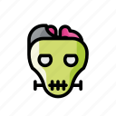 dead, death, evil, frankenstein, halloween, horror, zombie icon