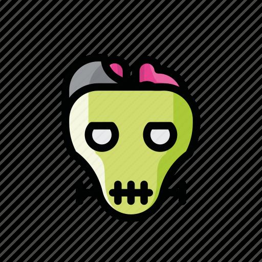 dead, death, evil, frankenstein, halloween, horror, zombie icon