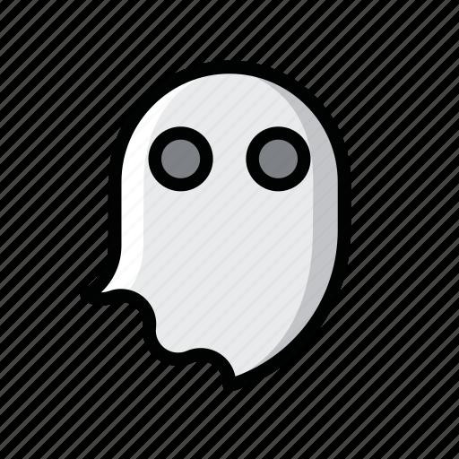 ghost, halloween, horror, monster, scary, skull icon