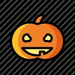 celebration, death, halloween, horror, pumpkin, scary icon