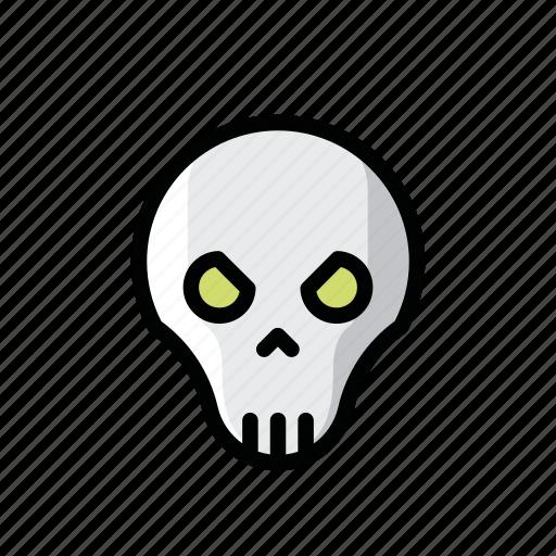 dead, death, ghost, halloween, horror, scary, skull icon