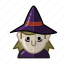 halloween, horror, magic, monster, sacry, witch, wizard icon