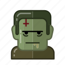 dead, evil, frankenstein, halloween, horror, monster, sacry icon