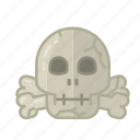 dead, halloween, horror, monster, sacry, skull, spooky icon