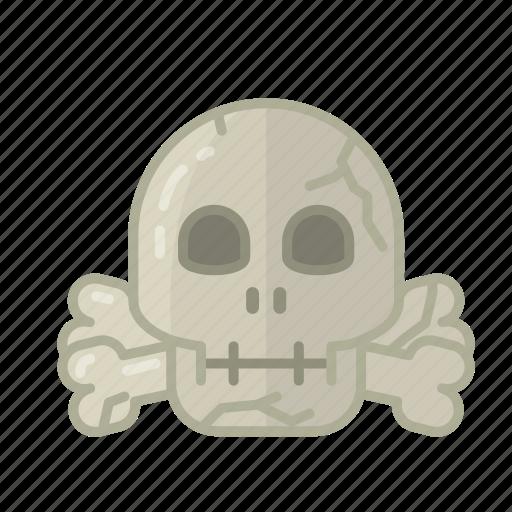 dead, halloween, horror, monster, sacry, skull, spooky icon