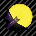 bat, evil, halloween, horror, monster, night, sacry icon