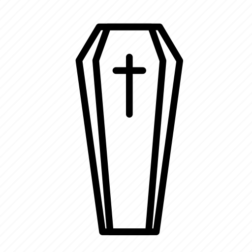 closed, dead, death, funeral, halloween, tomb icon