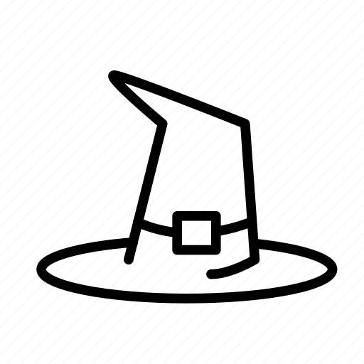 dead, death, funeral, halloween, hat, witch icon