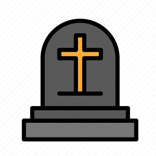 dead, death, funeral, halloween, tombstone icon