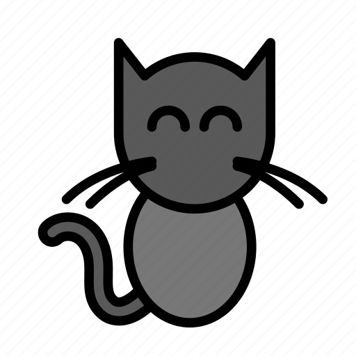 cat, dead, death, funeral, halloween icon