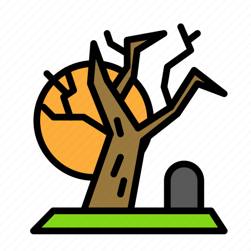 cemetry, dead, death, funeral, halloween icon