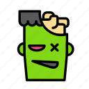 brain, dead, death, frankeistein, funeral, halloween icon