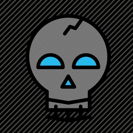 dead, death, funeral, halloween, happy, skull icon