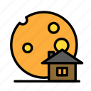 dead, death, funeral, halloween, moonhouse icon