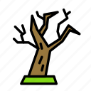 dead, death, funeral, halloween, oldtree icon
