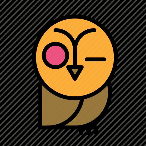 dead, death, funeral, halloween, owl icon