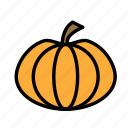 dead, death, funeral, halloween, pumpkin icon