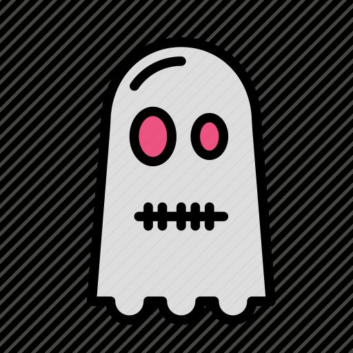 dead, death, funeral, ghost, halloween, silenced icon
