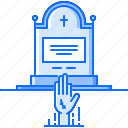 arm, fantasy, grave, halloween, legend, story, zombie icon