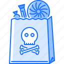candy, fantasy, halloween, legend, package, story, sweets icon