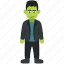addams family, dead man, halloween costume, lurch, zombie character icon