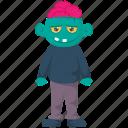 halloween costume, mojo jojo, monkey with brain, monster zombie, zombie with teeth icon