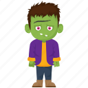 cartoon character, frankenstein monster, halloween monster, lurch, werewolf icon