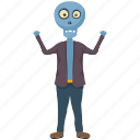 dead man skull, halloween character, halloween costume, maneater, zombie skeleton icon