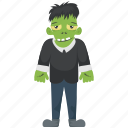 dead man walking, green monster, halloween character, monster shrek, zombie apocalypse icon