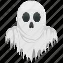 dreadful spirit, halloween ghost, halloween jinn, scary evil spirit, scary ghost icon