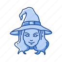 broom stick, halloween, holidays, horror, monster, scary, witch icon