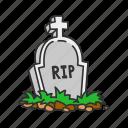 graveyard, cemetery, horror, halloween, holidays, tombstone, spooky