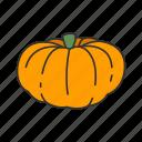 scary, food, horror, halloween, squash, holidays, pumpkin