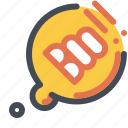 boo, bubble, ghost, spooky icon
