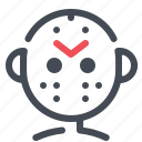 halloween, jason, mask, movie, scary icon