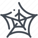 dusty, halloween, horrible, scary, spider, web icon