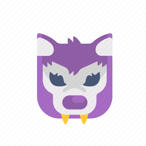 character, halloween, horror, monster, scary, set, werewolf icon