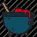 cauldron, dead, halloween, horror icon