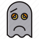 dead, ghost, halloween, monster icon