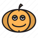 dead, halloween, monster, pumpkin icon