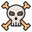 dead, ghost, halloween, skull icon