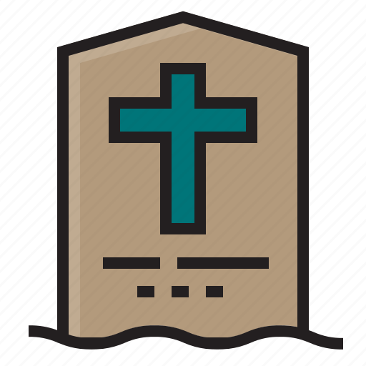 dead, ghost, halloween, tombstone icon